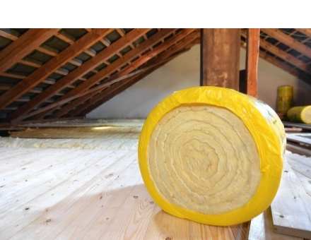 Loft insualtion can lower energy bills by reducing heat loss through the roof.